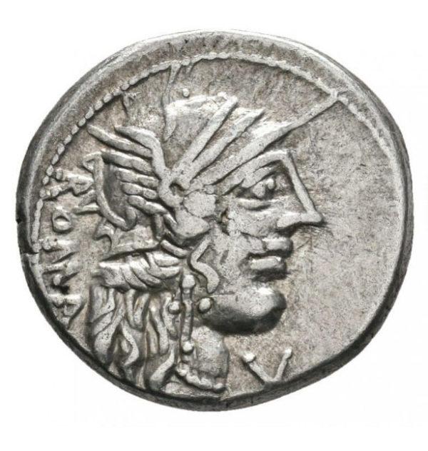 Roman Republican, M. Fannius, Denarius - Obv