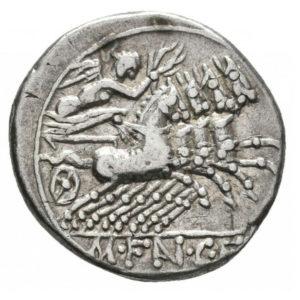 Roman Republican, M. Fannius, Denarius - Rev