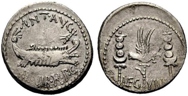 Roman Republican, Mark Antony, Denarius