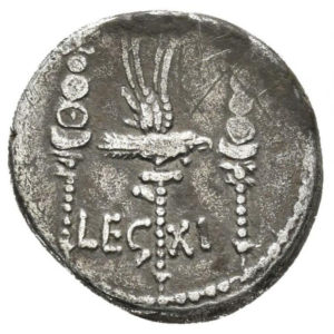 Roman Republican, Mark Antony, Denarius - Rev