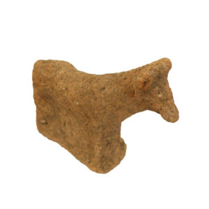 Greek terracotta votive cow