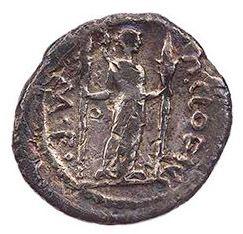 Roman Republican, P Clodius, Denarius - Rev