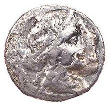 Roman Republican, Julius Caesar, Denarius - Obv