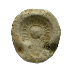 Roman oil lamp mold
