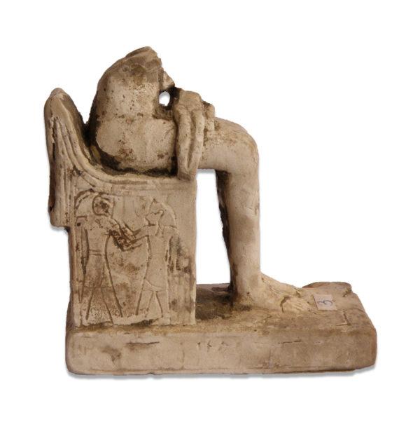 Egyptian statuette of Isis nursing Horus