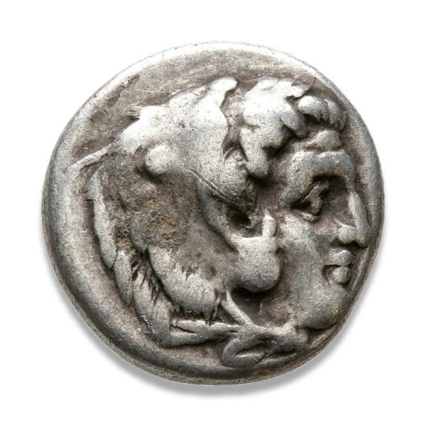 Kings of Macedon, Alexander III 'The Great', Drachm - Obv