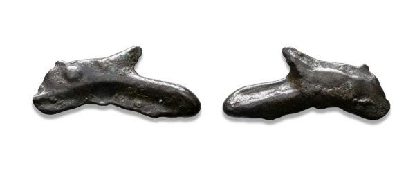 Greek, Olbia dolphin, Proto money