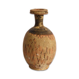 Greek lekythos with net pattern