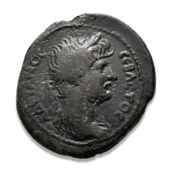 Roman Provincial, Hadrian, AE - Obv