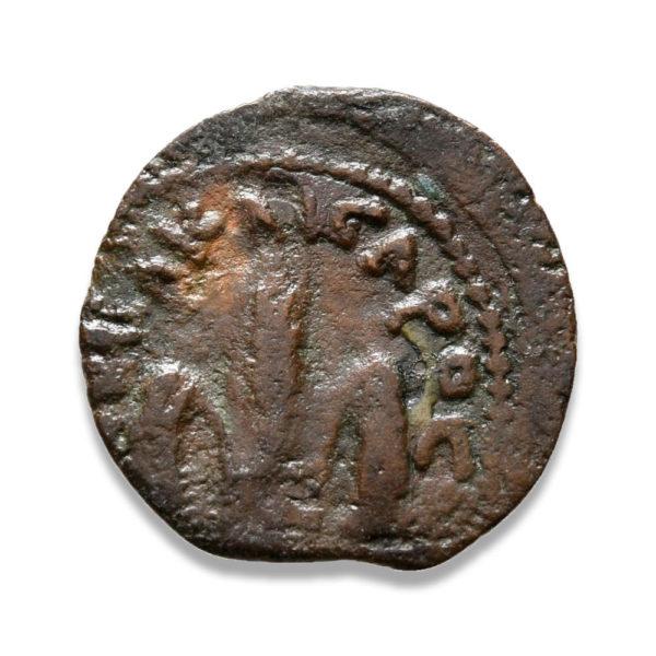 Roman Provincial, Pontius Pilate, Prutah - Obv