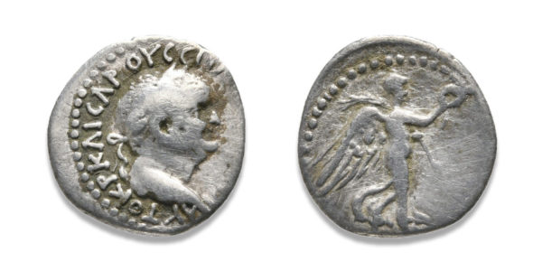Roman Provincial, Vespasian, Hemidrachm