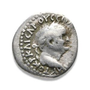 Roman Provincial, Vespasian, Hemidrachm - Obv