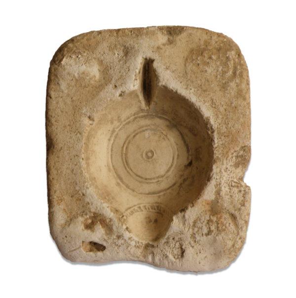 Roman oil lamp mold