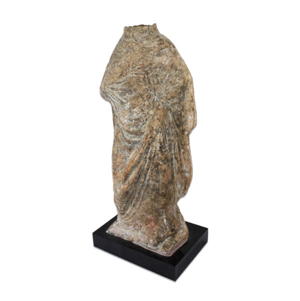 Greek draped women figurine