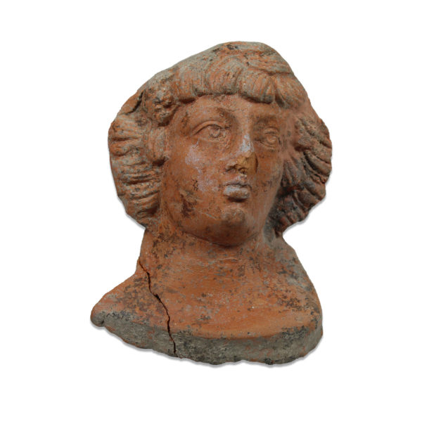 Roman bust young man