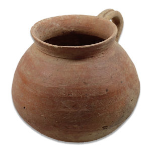Roman cup with bulbous body