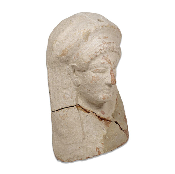 Etruscan votive female head
