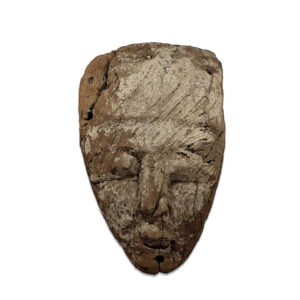 Egyptian mummy mask