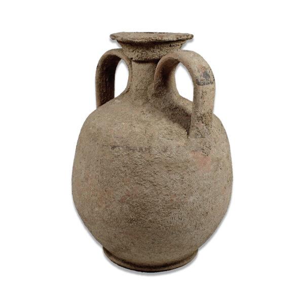 Greek jar with strip decoration