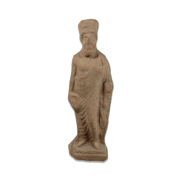 Greek statuette of a god