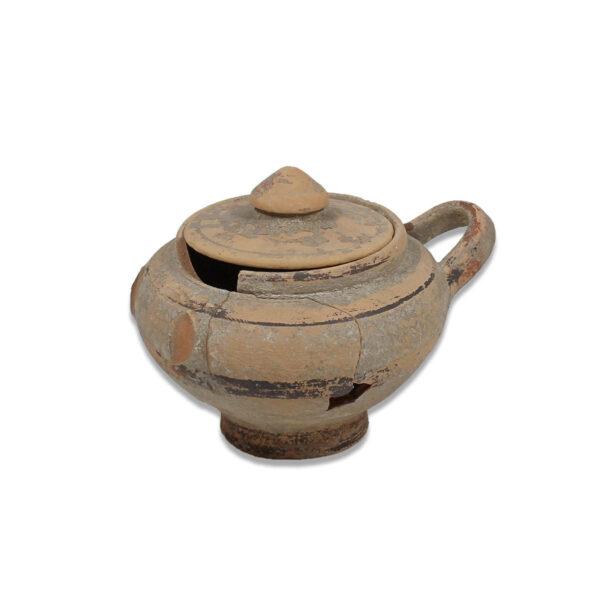 Greek vessel with lid