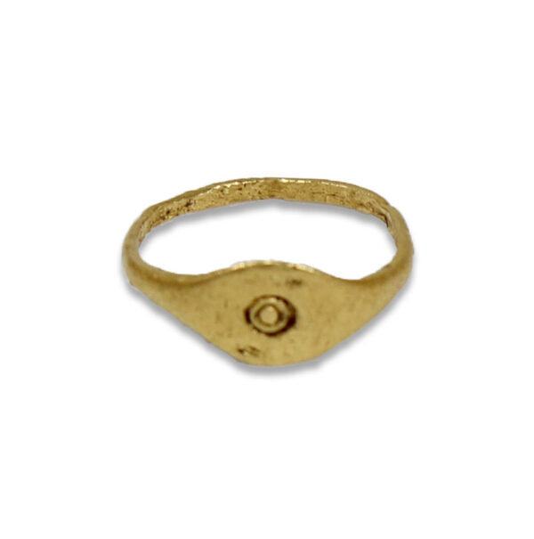 Roman ring with circles