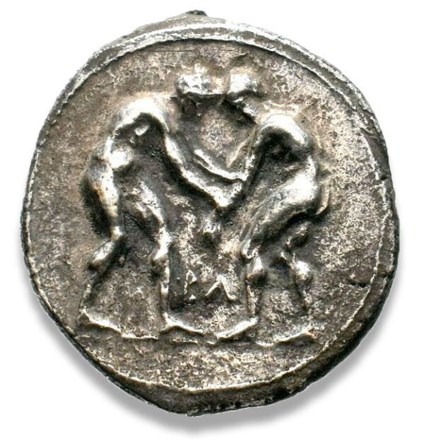 Pamphylia, Aspendos, Stater - Obv