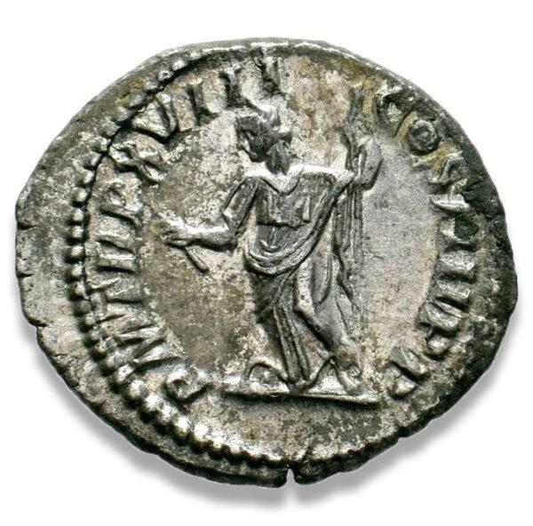 Roman Imperial, Caracalla, Denarius - Rev