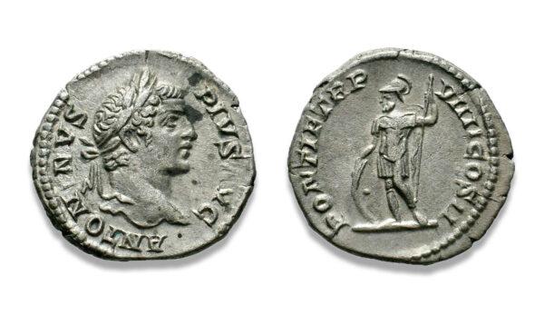 Roman Imperial, Caracalla, Denarius