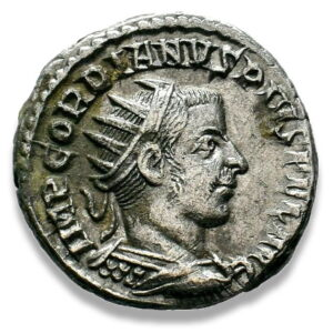 Roman Imperial, Gordian III, Antoninianus - Obv