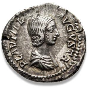 Roman Imperial, Plautilla, Denarius - Obv