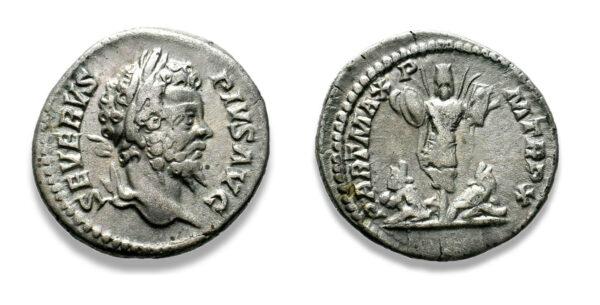 Roman Imperial, Septimius Severus, Denarius