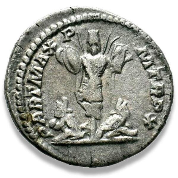 Roman Imperial, Septimius Severus, Denarius - Rev