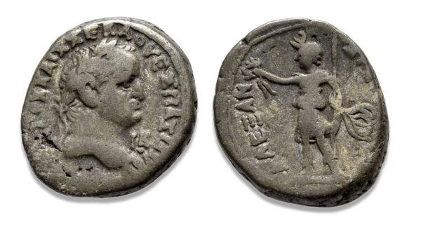 Roman Provincial, Vespasian, Tetradrachm