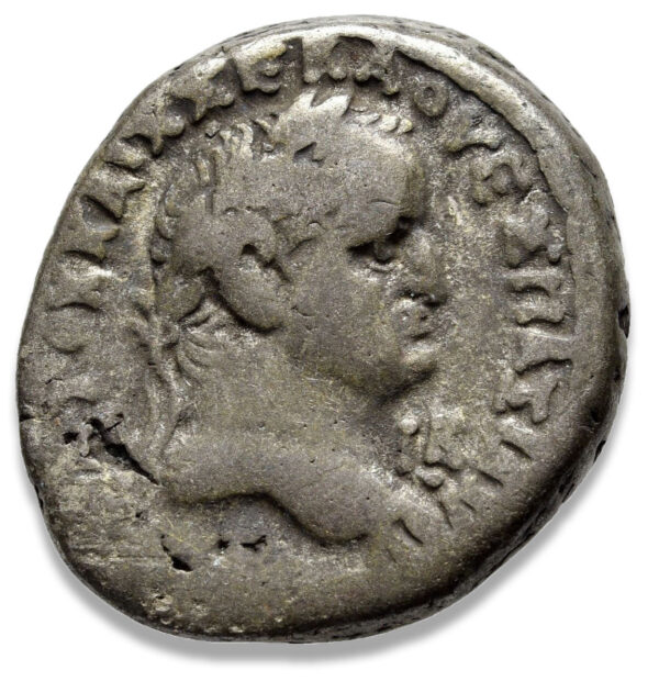 Roman Provincial, Vespasian, Tetradrachm - Obv