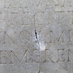 Roman funerary stele