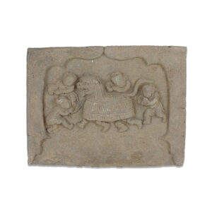 Chinese decorated brick