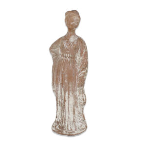 Greek statuette of a standing woman