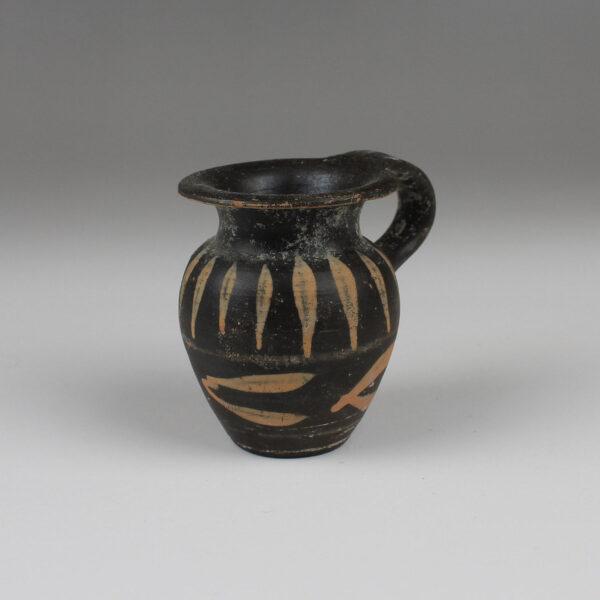 Greek miniature olpe