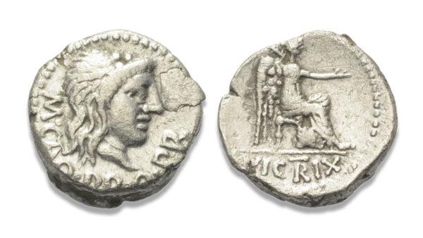 Roman Republican, M. Porcius Cato, Quinarius