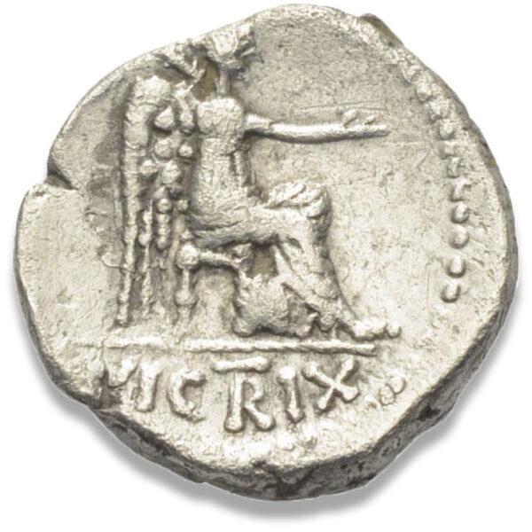 Roman Republican, M. Porcius Cato, Quinarius - Rev