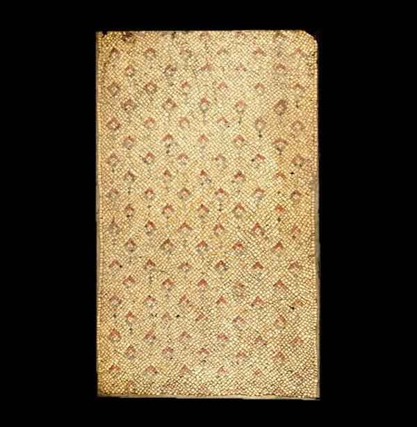 Late Roman / Byzantine mosaic with diamonds