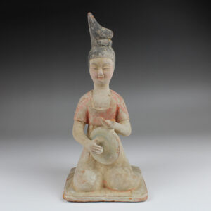 Chinese statuette of a musician