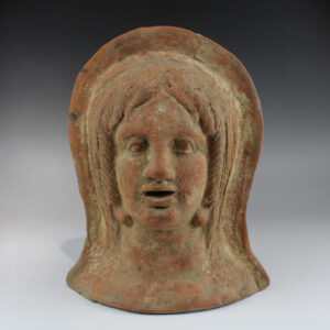 Etruscan votive head