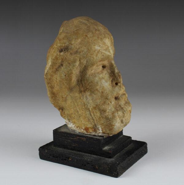 Roman head of a bearded man
