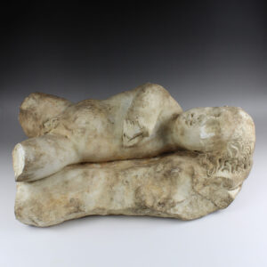 Roman statue of sleeping Eros