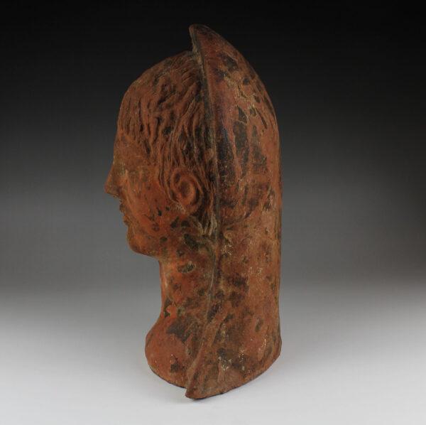 Etruscan votive half-head