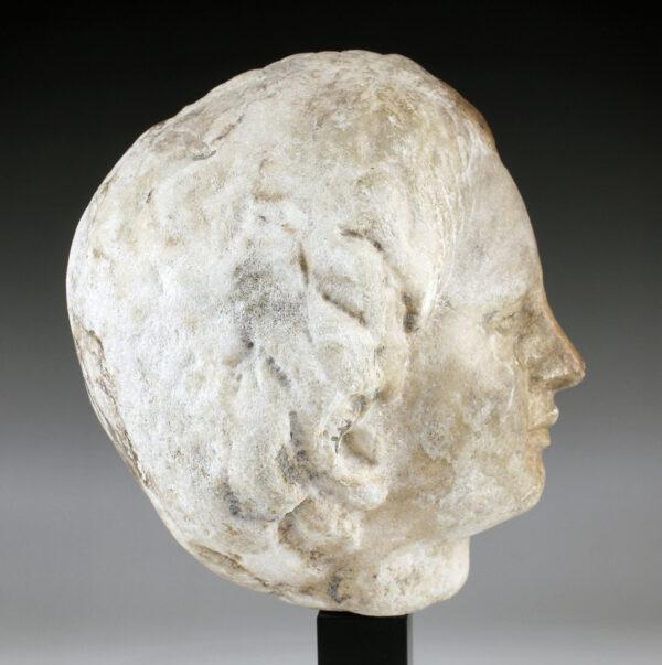 Roman head of Eros