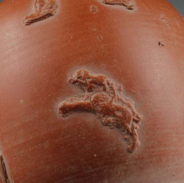 Roman red slip ware flask