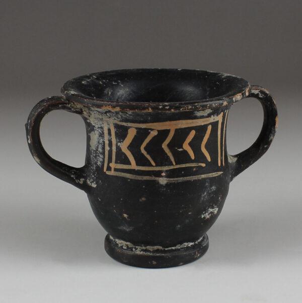 Greek miniature kantharos